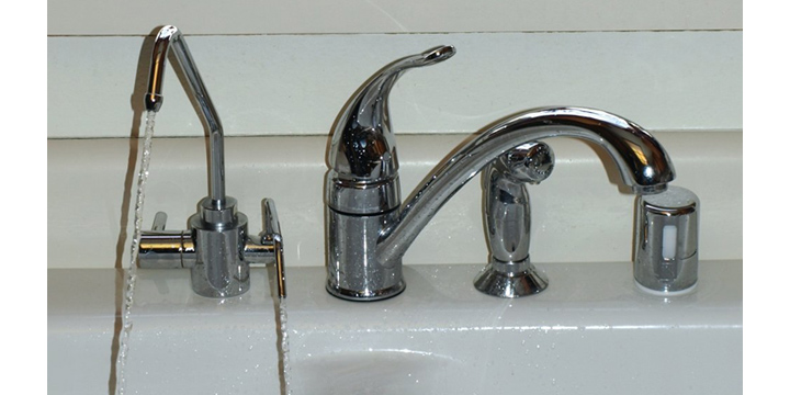 Under-Sink Universal Water Ionizer Adapter Faucet | Alka Water Life
