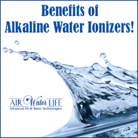 Alkaline Water Benefits Chart: Benefits of Alkaline Water Ionizers by Air Water Life